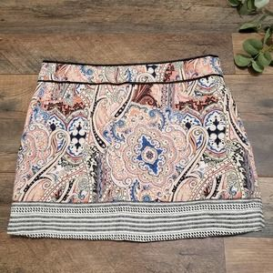 BSK Collection Bershka Quilted Mini Skirt Size 26